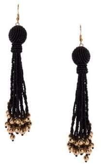 Wendy Beaded Tassel Earrings