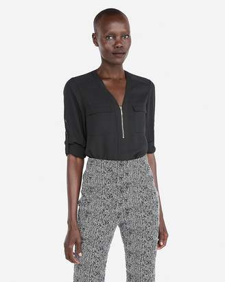 Express Two Pocket Zip Front Chelsea Popover
