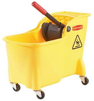 Rubbermaid 26.5-Liter Mop Bucket with Ringer Professional Plus