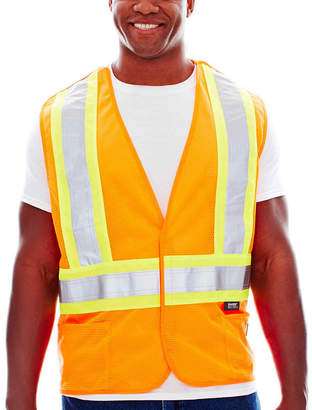 JCPenney Work King Traffic Safety Vest-Big & Tall