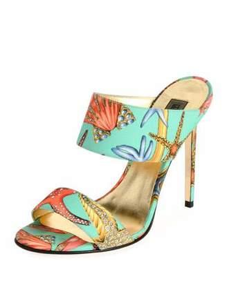 Versace Tresor De La Mer Mule Sandal