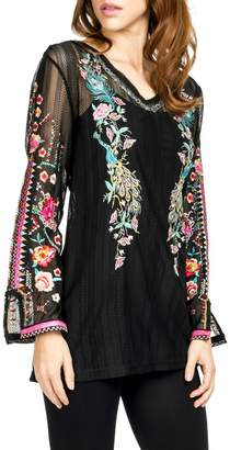 Adore Embroidered Motif Blouse
