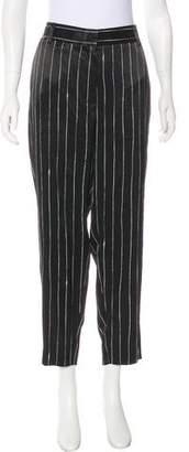 DKNY High-Rise Pinstripe Pants w/ Tags