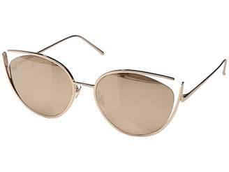Linda Farrow Luxe LFL668C3SUN Campaign Cat Eye Fashion Sunglasses