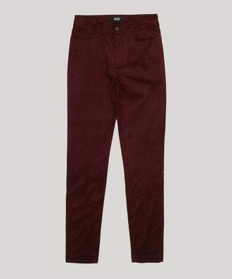 Paige Ultra Skinny Stretch Velvet Cord Trousers