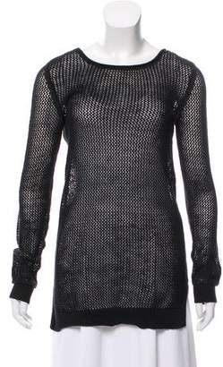 MICHAEL Michael Kors Fishnet Knit Top