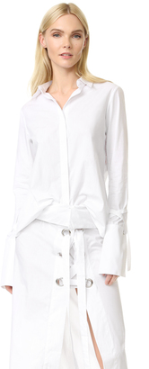 MLM LABEL Cairo Eyelet Top $175 thestylecure.com