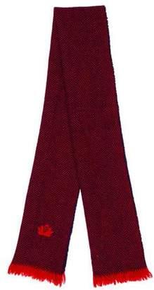 Fendi Wool Printed Scarf