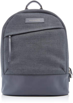 WANT Les Essentiels Kastrup Grey Canvas Backpack