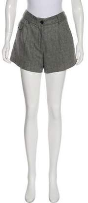 Elizabeth and James Wool Mini Shorts