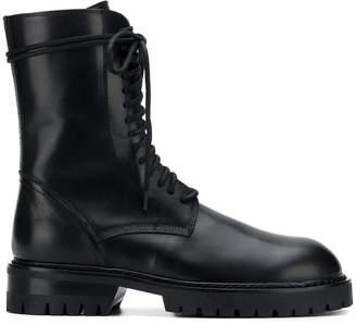 Ann Demeulemeester lace-up combat boots