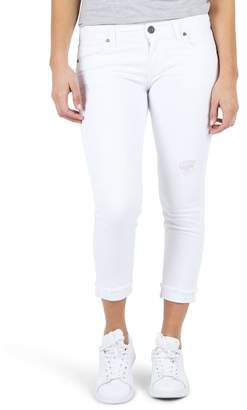 KUT from the Kloth Amy Crop White Jeans