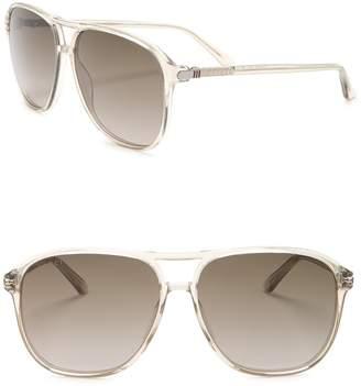 Gucci Aviator 58mm Sunglasses
