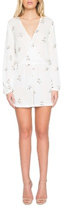 Women's Willow & Clay Floral Embroidered Romper $89 thestylecure.com