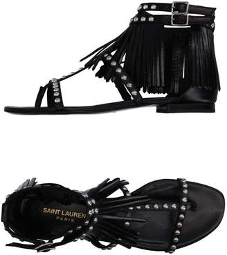 Saint Laurent Toe strap sandals