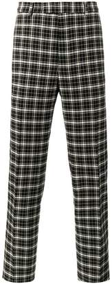 Gucci checked trousers