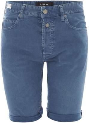 Replay Men's Rbj.901 Vintage Look Tapered-Fit Bermuda Shorts