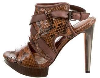 Lanvin Python Sandals w/ Tags