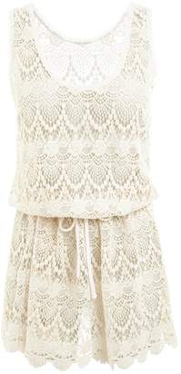 Melissa Odabash Alison Cream Lace Dress