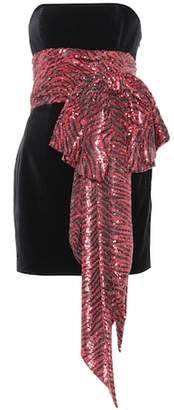 Alexandre Vauthier Embellished bustier minidress