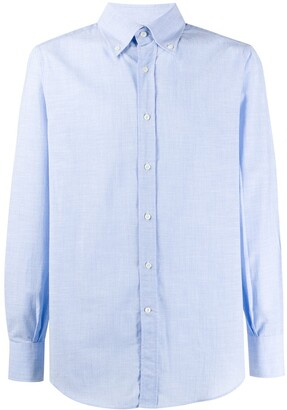 Brunello Cucinelli button collar shirt