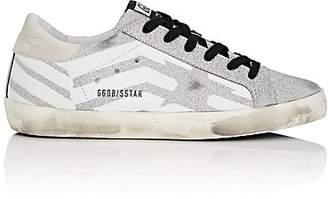 Golden Goose Women's Superstar Glitter Sneakers - Light Gray