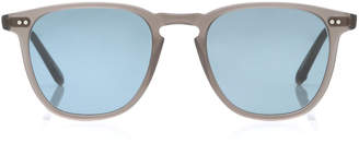 Garrett Leight M'O Exclusive Brooks Round-Frame Acetate Sunglasses
