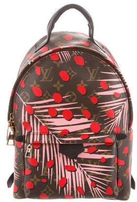 Louis Vuitton 2016 Monogram Jungle Dots Palm Springs Backpack PM