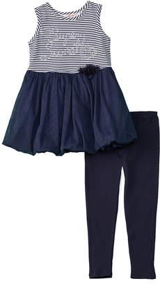 Nanette Lepore Girls' 2Pc Super Sweet Dress & Legging Set