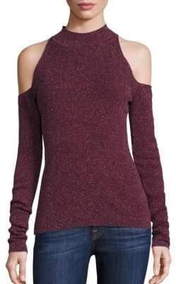Bailey 44 Inspire Cold-Shoulder Mockneck Sweater
