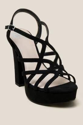 Fergalicious Priscella Platform Heel - Black