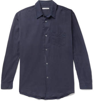 Our Legacy Initial Washed Cotton And Silk-Blend Shirt