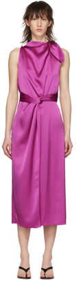 Nanushka Pink Kalila Slip Dress