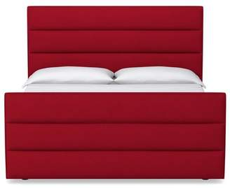 Apt2B Colette Upholstered Bed QUEEN SIZE in MARASCHINO - CLEARANCE