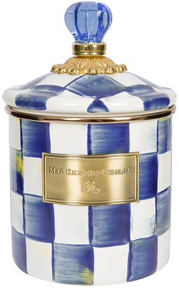 Mackenzie Childs MacKenzie-Childs - Royal Check Canister - Small