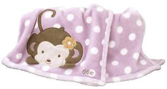 CoCalo Jacana Boa Blanket, Orchid/Yellow/Lavender/Brown (Discontinued by Manufacturer) by