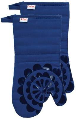 T-Fal Medallion Cotton Silicone Oven Mitt