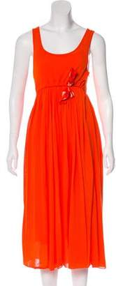 Sonia Rykiel Sonia by Sleeveless Midi Dress