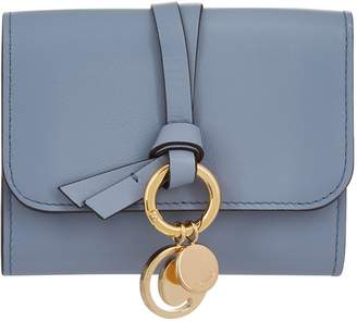 Chloé Mini Leather Flap Wallet