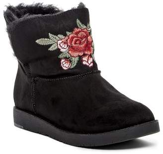 Rock & Candy Larue Embroidered Faux Fur Lined Boot