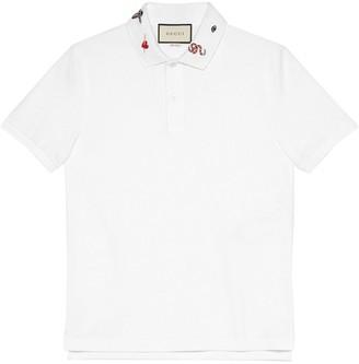 ce93f20e0 Gucci White Polo Shirts For Men - ShopStyle Australia