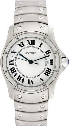 Cartier Heritage  1990S Unisex Santos Ronde Watch