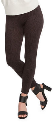 Spanx Look At Me Now Leopard Leggings $68 thestylecure.com