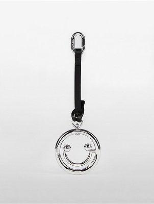 Calvin KleinCalvin Klein Womens Platinum Smiley Face Charm Chrome