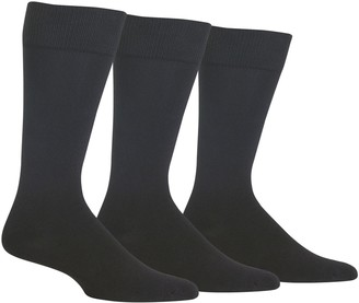 Chaps Men's 3-pack Supersoft Crew Socks