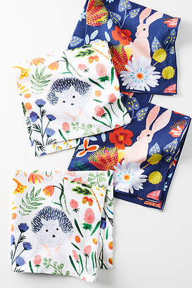Anthropologie Alice Napkins, Set of 4