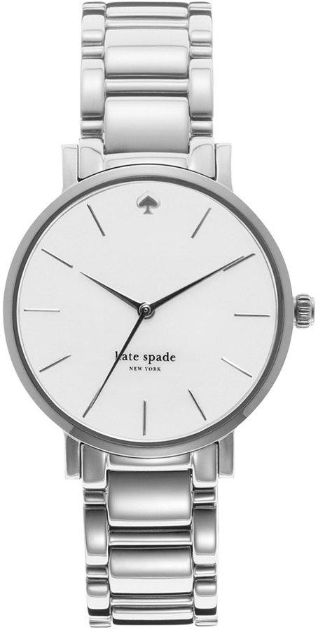 Kate Spadekate spade new york Watch, Women's Gramercy Stainless Steel Bracelet 34mm 1YRU0001
