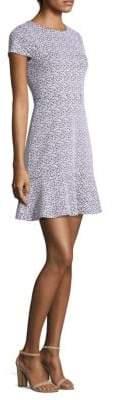 MICHAEL Michael Kors Printed Flounce Mini Dress