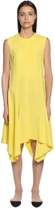 Sportmax Sleeveless Cady Midi Dress