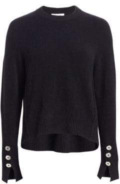 3.1 Phillip Lim Button Sleeve Wool Sweater